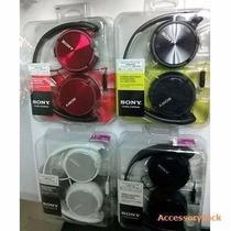 Auricular Sony Mdr-zx310 Negro Vincha Plegable