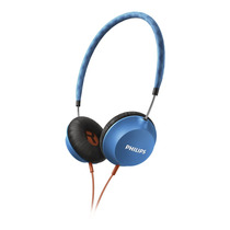 Auriculares Philips Shl5100bl Cityscape Liviano Azules