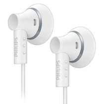 Auriculares Philips She3000wt Blanco Bass Beat Rosario