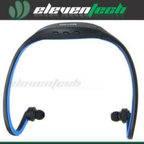 Auricular Inalambrico Sport Mp3 Fm Micro Sd Hasta 32gb Recar