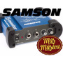 Samson S-monit Monitor Headphone Amp. 2 Entradas