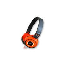 Auricular Manos Libres Noga Fit Ng-618 Naranja Mp3 Celular