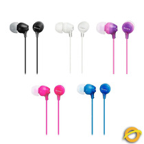 Auriculares Sony Stereo Inear Silicona Sony Mdrex15 Colores