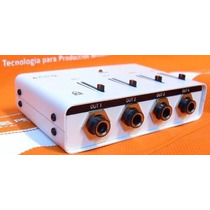 Amplificador Divisor Auriculares Hsr Ear 4 Salidas Monitoreo