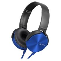Auricular Azul Diadema Mdr-xb450ap Extra Bass Sony Store