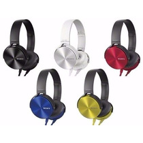 Auriculares Sony Xb450 Potenciados Vincha Extra Bass
