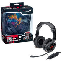Auricular Con Microfono Genius Hs-g500v Gaming Vibracion Box