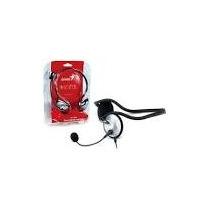 Auricular Genius Mod. Hs-300a Plata C/microfono-