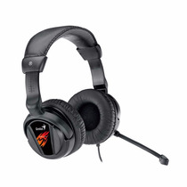 Auricular Con Microfono Genius Hs-g500v Vibracion Gamer Usb