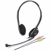 Auricular Con Microfono Vincha Genius Hs-200c Skype Chat