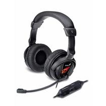 Auricular C/microfono Genius Hs-g500v Con Vibracion Gamer
