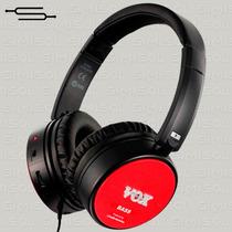 Auriculares Vox Bass Amphones Amplificador De Bajo 12cuotas