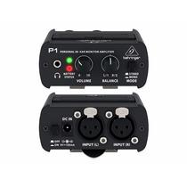 Amplificador Auricular Behringer Powerplay P1 Monitor In Ear