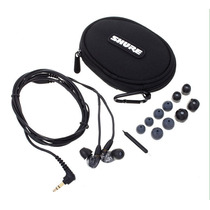 Monitores In Ear Intraurales Shure Se215 Negro Y Clear Stock