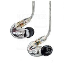 Shure Se215-cl Auricular Intraural Profesional 22hza17,5khz