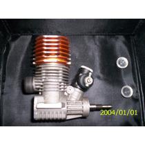 Motor Glow .21 Mega Zx Usado Con Conjunto Nuevo.-