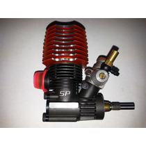 Motor R.c. Glow, Explosión Incluye Escape De Aluminio