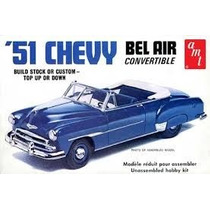 Chevy 51 Bel Air Convertible 1/25 Marca Amt