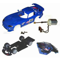 Scalextric Fly Cars Models Dodge Viper Fast Kit