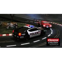 Scalextric Muscle Cars Carrera Evolution Con Luces Nuevo.!