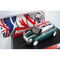 Mini Cooper Ninco Flag England Scalextric Nuevo.!