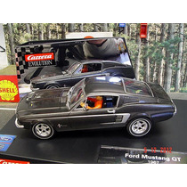 Scalextric Ford Mustang 67 Carrera Evolution C/ Luces Nuevo!