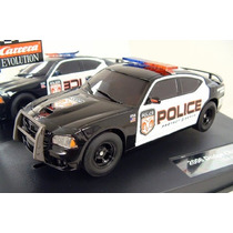 Scalextric Dodge Charger Police Carrera Evolution Nuevos.