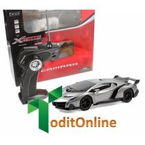 Auto Lamborghini Radio Control Remoto Rc Escala 1/32 Oferta!