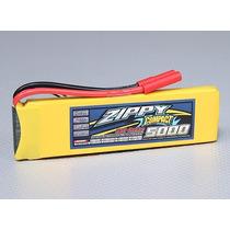 Batería Lipo 7,4v 2s 5000mah Rc Traxxas Hpi Mamba Hobby Wing