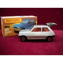 Matchbox N° 21 Renault 5tl Lesney & Co England