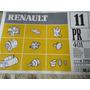 Catalogo De Repuestos Renault N° 11 De 1998