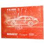 Renault Fuego 1988 Catalogo Original De Despiece.