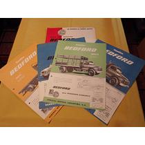 Lote De 5 Folletos De Venta Camion Bedford General Motors