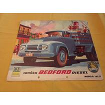 Catalogo Ventas Camion Bedford Diesel General Motors