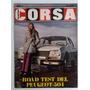 Revista Corsa 223 - Peugeot 504 Julio 1970