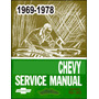 Manual De Taller Chevrolet Chevy 1969 1978 +despiece*usuario