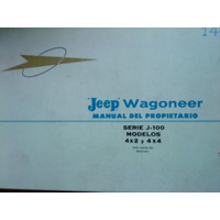Libro Manual Del Usuario 100% Original: Jeep Wagoneer 1964