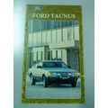 Libros Manuales De Usuario Originales: Ford Taunus-coupé Sp5