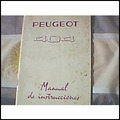 Libro Manual 100% Original De Usuario: Peugeot 404 1961/2