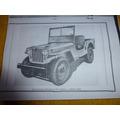Jeep Willys Cj2a - Estanciera - Reo - Unimog - 4x4 -jeep Ika