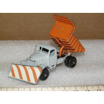 Matchbox Lesney Nº 16 C Snow Plow / Case Tractor