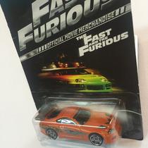 Hot Wheels 2013 Toyota Supra Fast & Furious Rapido Y Furioso