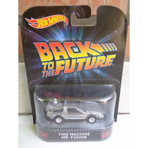 Hotwheels Delorean Volver Al Futuro 3 Mr. Fusion 1:64 Time M