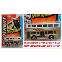 Matchbox London Bus Double Decker Colectivo 2012 Solo Envios