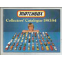 Matchbox / Catalogo / Año 1983-84 / En Ingles. /