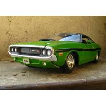 1970 Dodge Challemger R/t Hemi 426 Maisto 1/24 Mundial Hobby