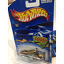 Hot Wheels 2002 Scorchin Scooter Moto Chopera Dorada