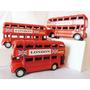 Colectivo Autobus Ingles De Dos Pisos 9 Cm X 4,5 Cm De Alto