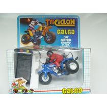 Galgo Triciclon Honda 200 Nueva En Caja Luz Y Control Remoto