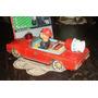 Antiguo Auto Bombero Mercedes Benz Modern Toys Japon (4422)
